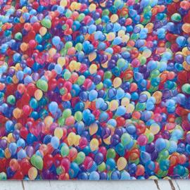 Streep/Polkadot/Sterren/ballonnen leer