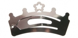Knipjes zilver *kroontje* 4cm