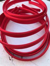 Diadeem rood 1.5 cm
