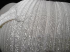 Elastisch biasband ivoor (haarband) 1,5cm