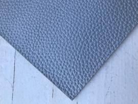 Leer parelmoer structuur zilver stoer