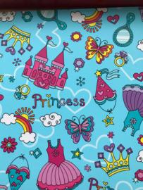 Leer Prinsessen blauw