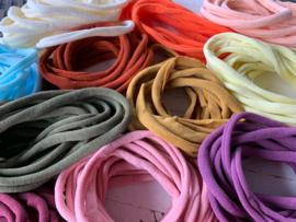 Haarbandje nylon lila/paars