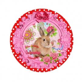 Flatback konijntje pippa (k346)