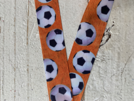 voetbal oranje sierband