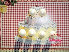 Clayre & Eef parel & parelmoer (taart)