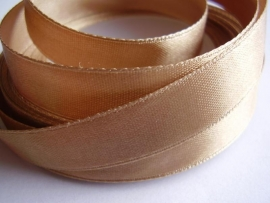 SB105 Satijnband beige 12 mm