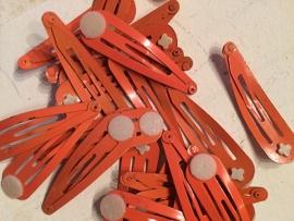 Knipjes oranje met plakschijfje  (Per st)