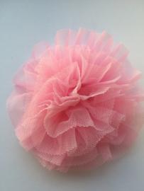 Bloem tule baby roze