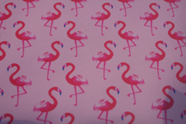 Flamingo leer roze/hot pink