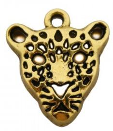 Bedel tijger/panter goud
