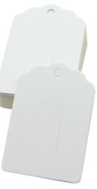 Display kaartje wit