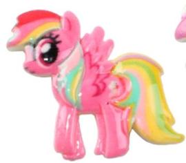 Flatback Pony pink vleugel