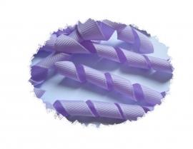 Krullen lint lavendel 7cm pst
