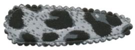 Kniphoesje panter/tijger grijs katoen