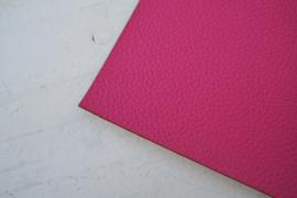 Leer structuur hot pink