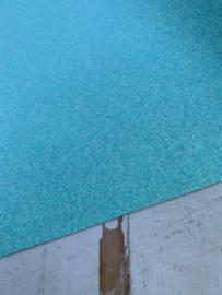 Glitter Leer Licht blauw 20x30 cm