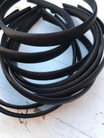 Diadeem zwart 1.5 cm