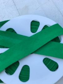Biasband groen katoen