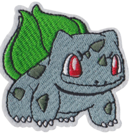 Bulbasaur Pokemon strijkapplicatie