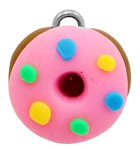 Bedel fimo donut pink