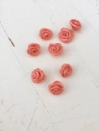 Roosje coral 1 cm (10)
