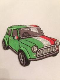 Opstrijk applicatie auto mini ITALIE
