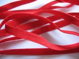 Skinny haarband elastiek rood