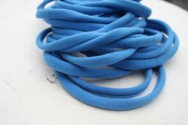 Haarbandje nylon blauw