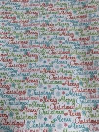 Leer kerst tekst: Merry Christmas!