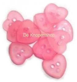 KN563a Roze hart mat