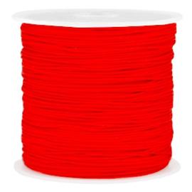 Macramé draad rood 0.8mm