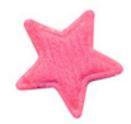 Ster roze 1.5 cm