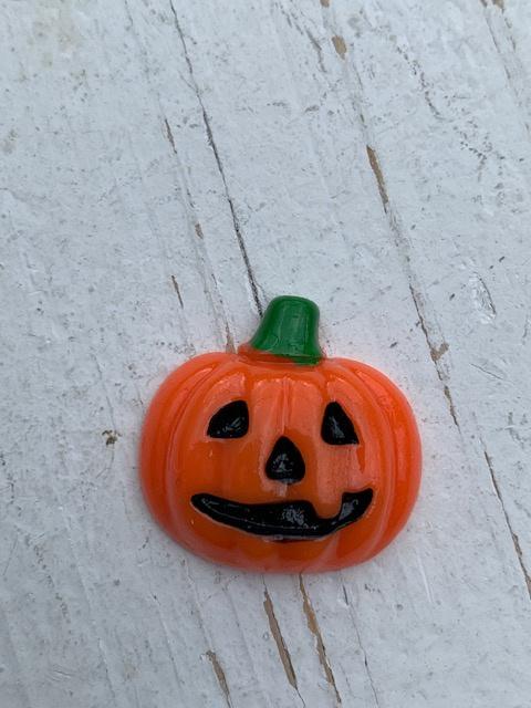 Flatback pompoen oranje halloween