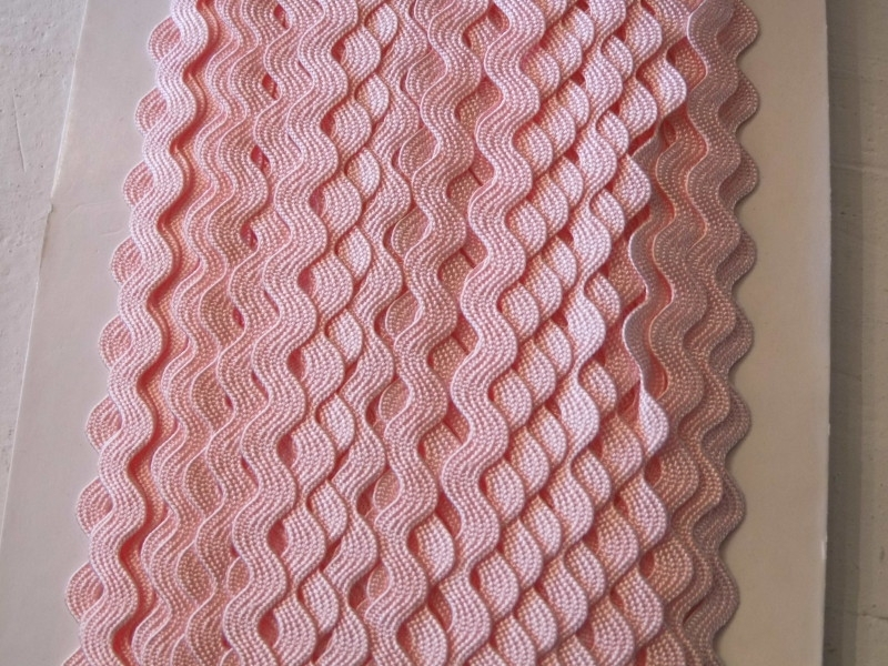 Zigzagband rosa 5mm