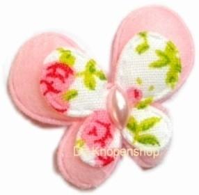 2 laags vlinder roze