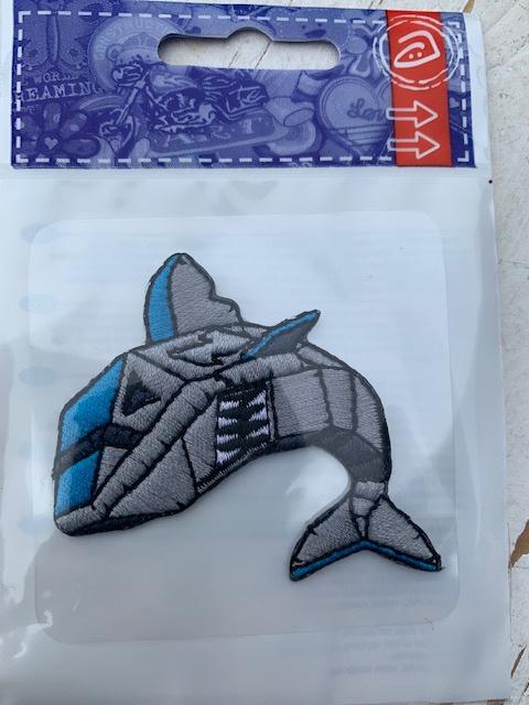 Opstrijk applicatie robot haai