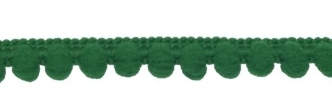 Mini pompomband groen
