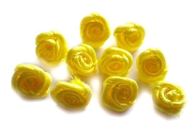 R07a Roosjes geel 1cm  (10)