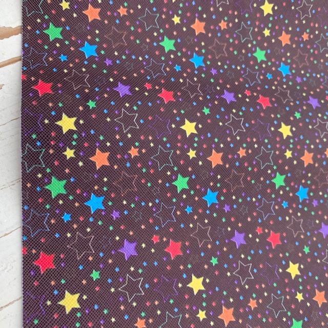 Leer regenboog sterren