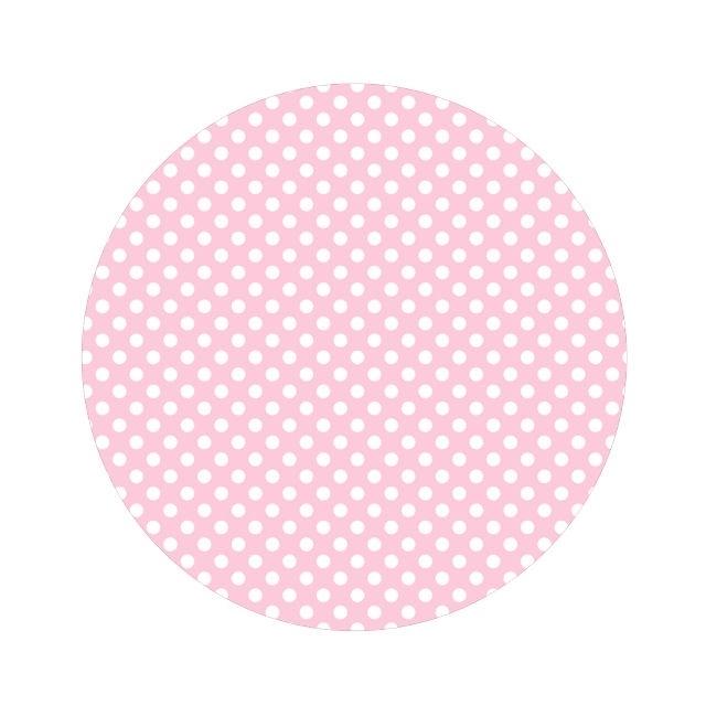 Polkadot baby roze 50cm