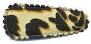 Kniphoesje panter/tijger ivoor katoen (baby)