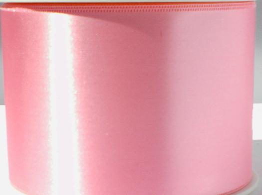 Satijnlint lichtroze 7 cm