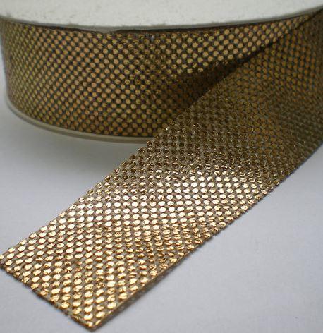 Sierband metalino goud