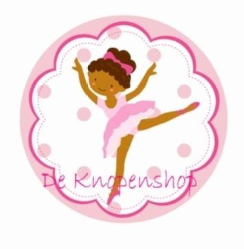Flatback Ballerina donker (k143)