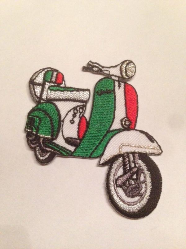 Opstrijk applicatie scooter ITALIE