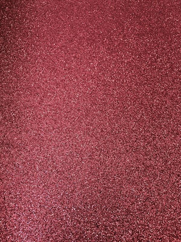 Glitter leer coral  20x30 cm