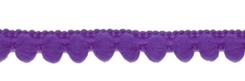 Mini pompomband paars