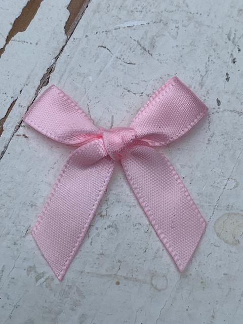Strik satijn licht roze 4cm