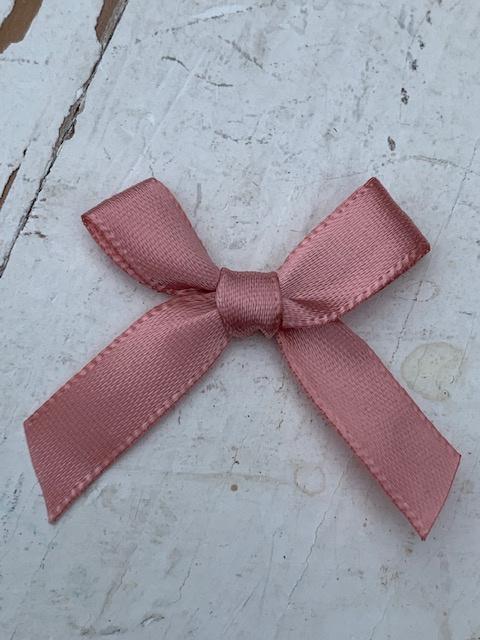 Strik satijn dusty pink / oudroze 4cm